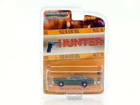 Rick Hunter's Dodge Monaco Baujahr 1978 TV-Serie Hunter (1984-1991) grün metallic 1:64 Greenlight