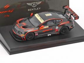 Bentley Continental GT3 #8 Macau GP FIA GT World Cup 2015 Adderly Fong 1:64 Spark