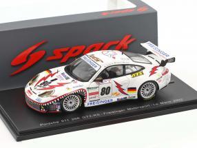Porsche 996 GT3 RS #80 24h LeMans 2002 Dumas, Maassen, Bergmeister 1:43 Spark