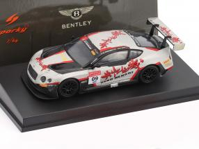 Bentley Continental GT3 #09 China GT Championship 2017 Geng, Imperatori 1:64 Spark