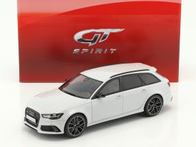 Audi RS6 (C7) Avant Performance Baujahr 2017 weiß 1:18 GT-Spirit