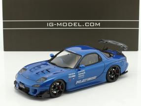 Mazda RX-7 (FD3S) RE Amemiya blau 1:18 Ignition Model