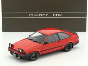 Toyota Sprinter Trueno (AE86) 2-Door GT Apex rot 1:18 Ignition Model