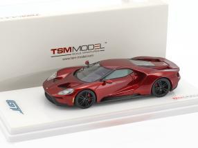 Ford GT Baujahr 2016 liquid rot 1:43 True Scale