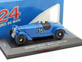 Delahaye 135S #15 Winner 24h LeMans 1938 Chaboud, Tremoulet 1:43 Ixo