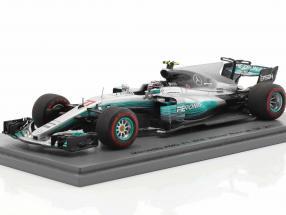 Valtteri Bottas Mercedes AMG F1 W08 #77 Winner Russian GP Formel 1 2017 1:43 Spark