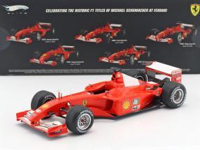 M.Schumacher Ferrari F2001 Formel 1 Weltmeister 2001 GP Ungarn 1:18 HW Elite