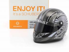 Nico Hülkenberg Renault R.S.17 Singapore GP formula 1 2017 helmet 1:2 Schuberth