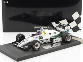 Keke Rosberg Williams FW08C #1 Winner Monaco GP Formel 1 1983 1:18 Minichamps