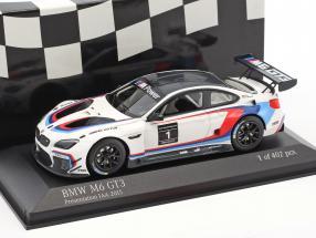 BMW M6 GT3 #1 Presentation Car IAA 2015 1:43 Minichamps