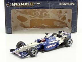 Juan Pablo Montoya Williams FW25 #6 Showcar Formel 1 2003 1:18 Minichamps