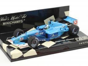 Giancarlo Fisichella Benetton B201 #7 USA GP Formel 1 2001 1:43 Minichamps