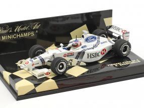 Rubens Barrichello Stewart SF2 #18 Formel 1 1998 1:43 Minichamps