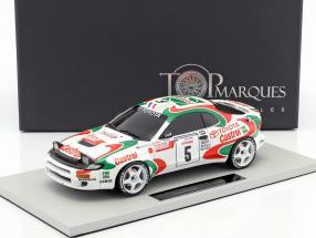 Toyota Celica GT4 #5 Winner Tour de Corse 1994 Auriol, Occelli 1:18 TopMarques