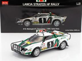 Lancia Stratos HF Rally #1 Safari Rallye 1976 Waldegard, Thorszelius 1:18 SunStar