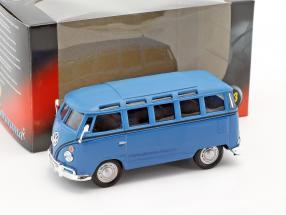 Volkswagen VW T1 Samba Bus blau 1:43 Cararama