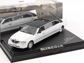 Lincoln Town Car limousine year 2000 white / black 1:43 Vitesse