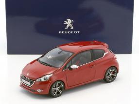 Peugeot 208 GTi Baujahr 2013 rubin rot 1:18 Norev