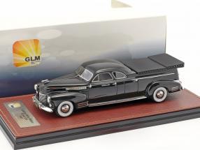 Cadillac Miller Meteor Flower Car Baujahr 1941 schwarz 1:43 GLM