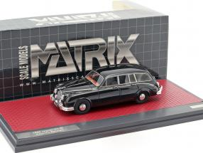 Jaguar MK II Country Estate Baujahr 1963 schwarz 1:43 Matrix