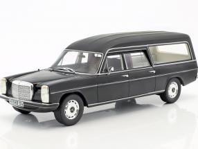 Mercedes-Benz W114 Pollmann hearse year 1972 black 1:18 Cult Scale