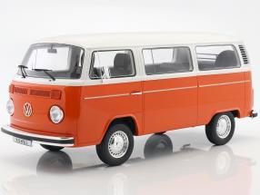 Volkswagen VW Kombi T2 Bus Baujahr 1978 orange / weiß 1:12 OttOmobile