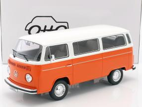 Volkswagen VW Kombi T2 Bus Baujahr 1978 orange / weiß 1:12 OttOmobile