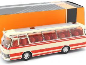 Neoplan NH 9L bus year 1964 beige / red 1:43 Ixo