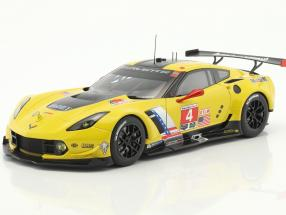 Chevrolet Corvette C7.R #4 Winner Lime Rock IMSA 2016 Gavin, Milner 1:18 AUTOart