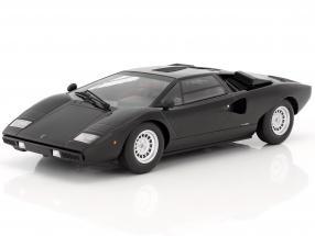 Lamborghini Countach LP400 year 1974-1978 black 1:18 Kyosho