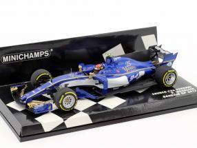 Pascal Wehrlein Sauber C36 #94 Bahrain GP Formel 1 2017 1:43 Minichamps