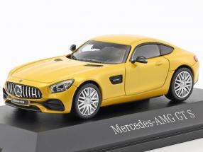 Mercedes-Benz AMG GT S coupe solar beam yellow metallic 1:43 Norev