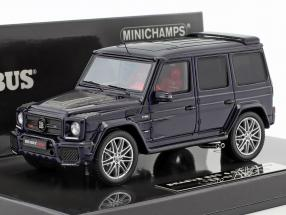 Brabus 850 6.0 Biturbo Widestar year 2016 dark blue 1:43 Minichamps