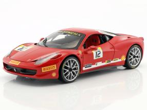 Ferrari 458 Italia Challenge #12 2011 red 1:18 HotWheels Heritage