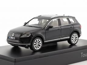 Volkswagen VW Touareg Baujahr 2015 schwarz 1:43 Herpa