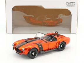 AC Cobra 427 MKII year 1965 orange metallic / black 1:18 Solido