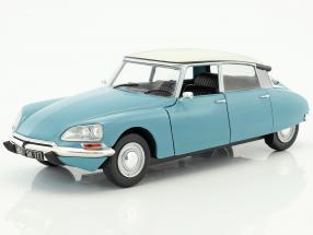 Citroen DS Special Baujahr 1972 hellblau / weiß 1:18 Solido