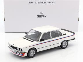 BMW M535i E12 Year 1980 white 1:18 Norev