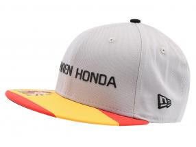 McLaren Honda Formel 1 2017 Alonso & Vandoorne Special Edition Spanien Cap grau S/M