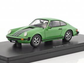 Porsche 911 coupe green metallic 1:43 Schuco