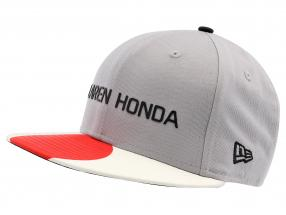 McLaren Honda Formel 1 2017 Alonso & Vandoorne Special Edition Japan Cap grau M/L