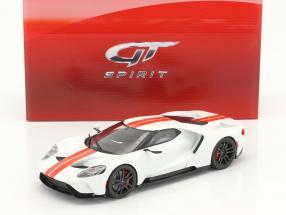 Ford GT Baujahr 2017 weiß 1:18 GT-Spirit