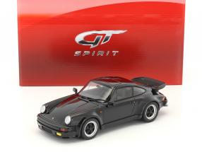 Porsche 911 (930) Turbo S black 1:18 GT-Spirit