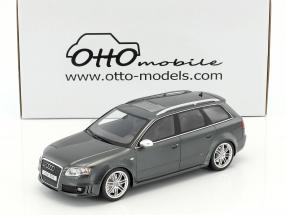 Audi RS4 B7 Baujahr 2006 daytona grau 1:18 OttOmobile