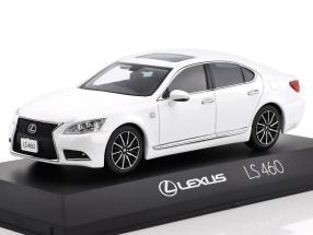 Lexus LS 460 F Sport white 1:43 Kyosho