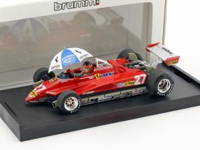 Gilles Villeneuve Ferrari 126C2 #27 Brasilien GP Formel 1 1982 1:43 Brumm