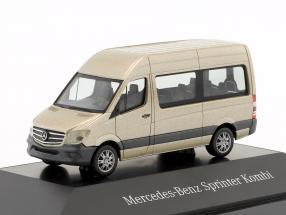 Mercedes-Benz Sprinter Kombi perlsilber metallic 1:87 Herpa