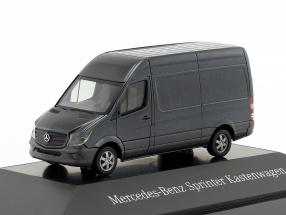 Mercedes-Benz Sprinter van tenorite Gray metallic 1:87 Herpa