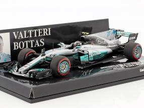 Valtteri Bottas Mercedes F1 W08 EQ Power+ #77 2nd Mexiko GP F1 2017 1:43 Minichamps