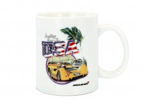 McLaren Greetings from USA Can-Am Tasse weiß